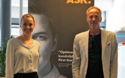 ASK är ny partner till Help At Hand